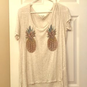 Victoria's Secret PINK pineapple tee